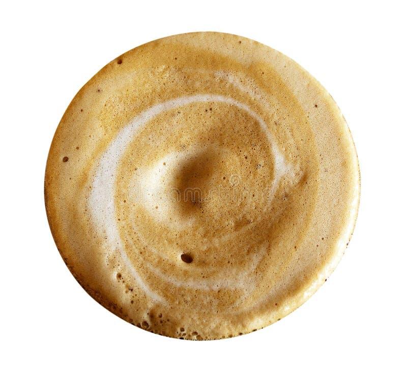 Het Schuim van cappuccino's royalty-vrije stock afbeeldingen