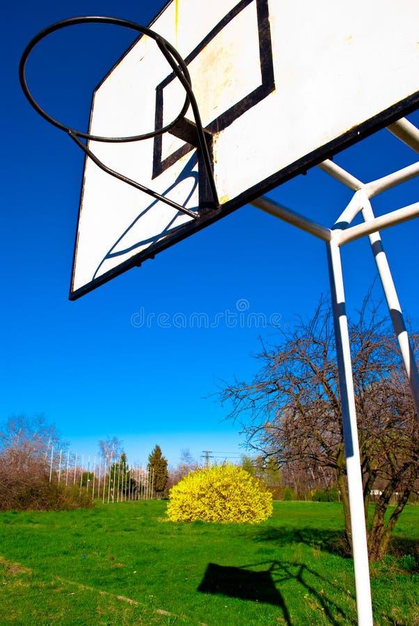Het scorebord van het basketbal royalty-vrije stock fotografie