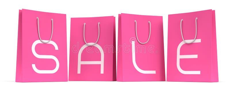 Het Seizoen van de verkoop is Open! :) vector illustratie