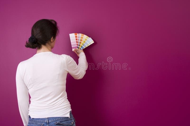 Het selecteren van kleur stock foto's