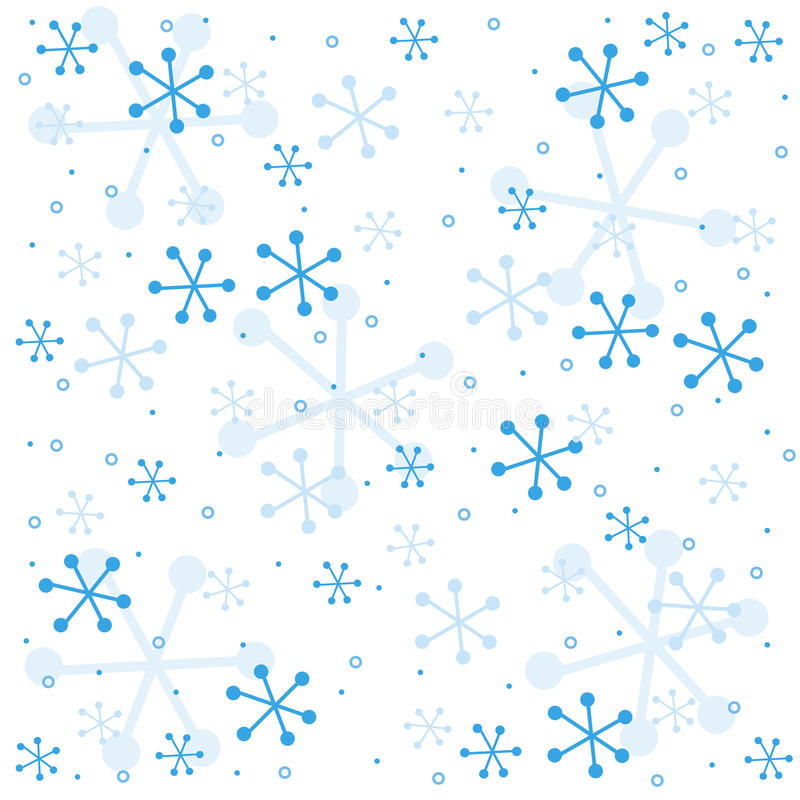 Het semless patroon van de winter