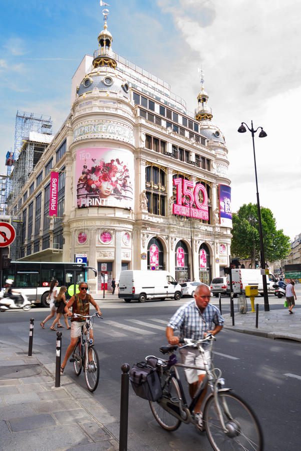 Het Sightseeing van Parijs stock foto's