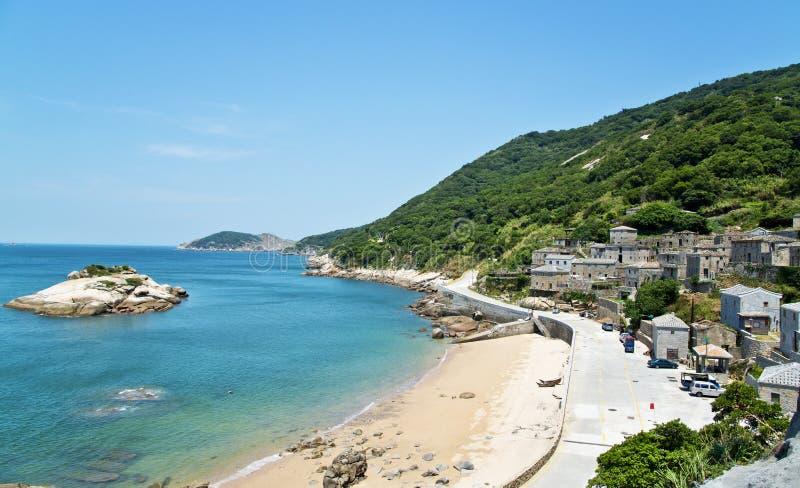 Het sightseeingsaantrekkelijkheden van Taiwan Matsu stock foto's