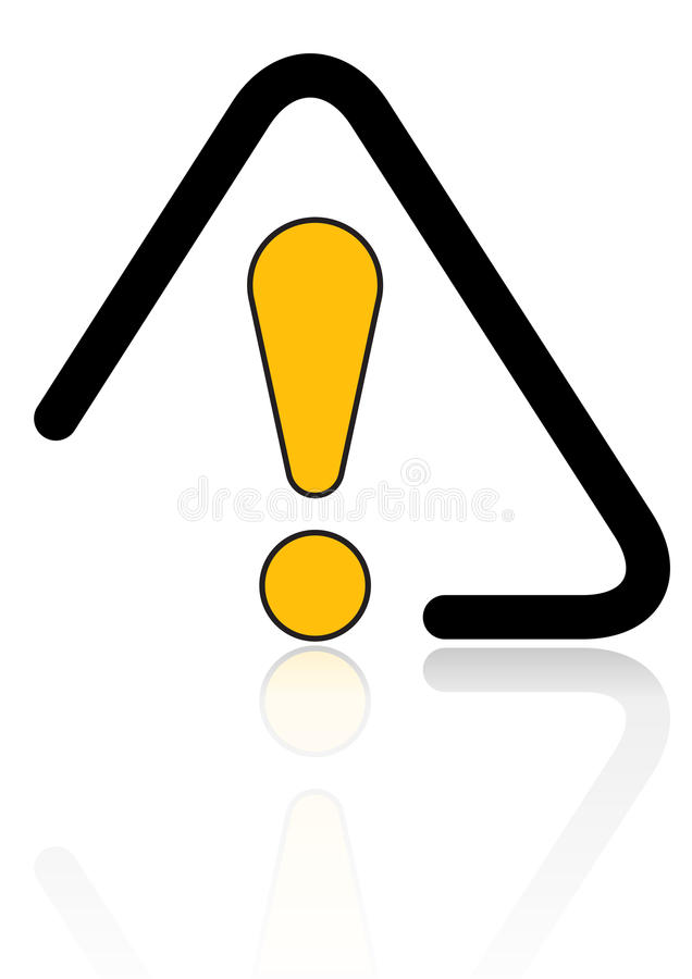 Download Het Signaal Van De Voorzichtigheid Vector Illustratie - Illustratie bestaande uit veilig, building: 10776750