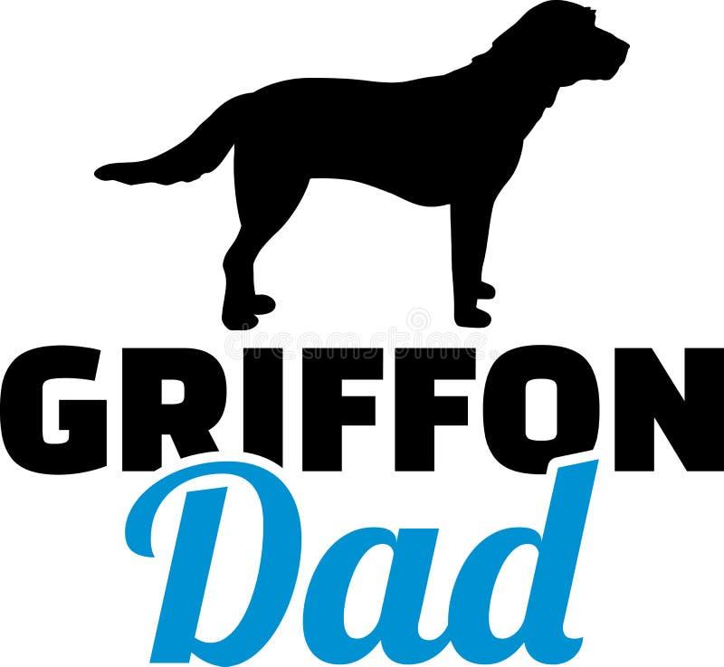 Download Het Silhouet Van De Griffonpapa Vector Illustratie - Illustratie bestaande uit embleem, vector: 114228269