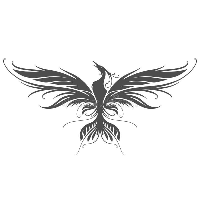 Het silhouet van Phoenix