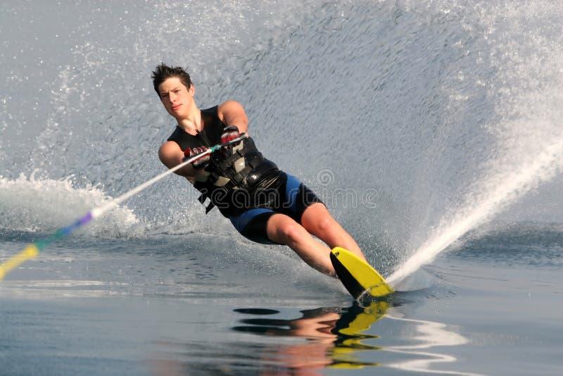 Het skiån van het water stock fotografie