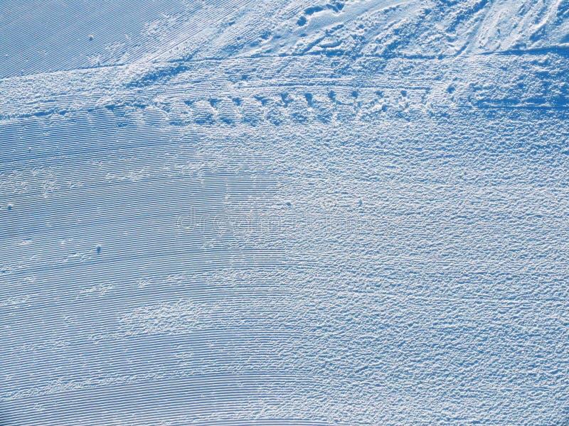Het ski?en achtergrond royalty-vrije stock foto