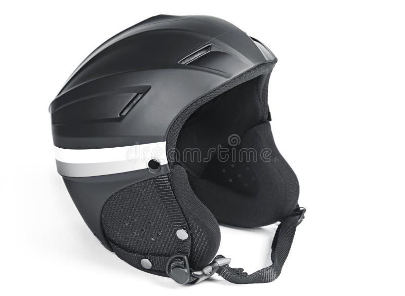Het ski?en helm stock foto's