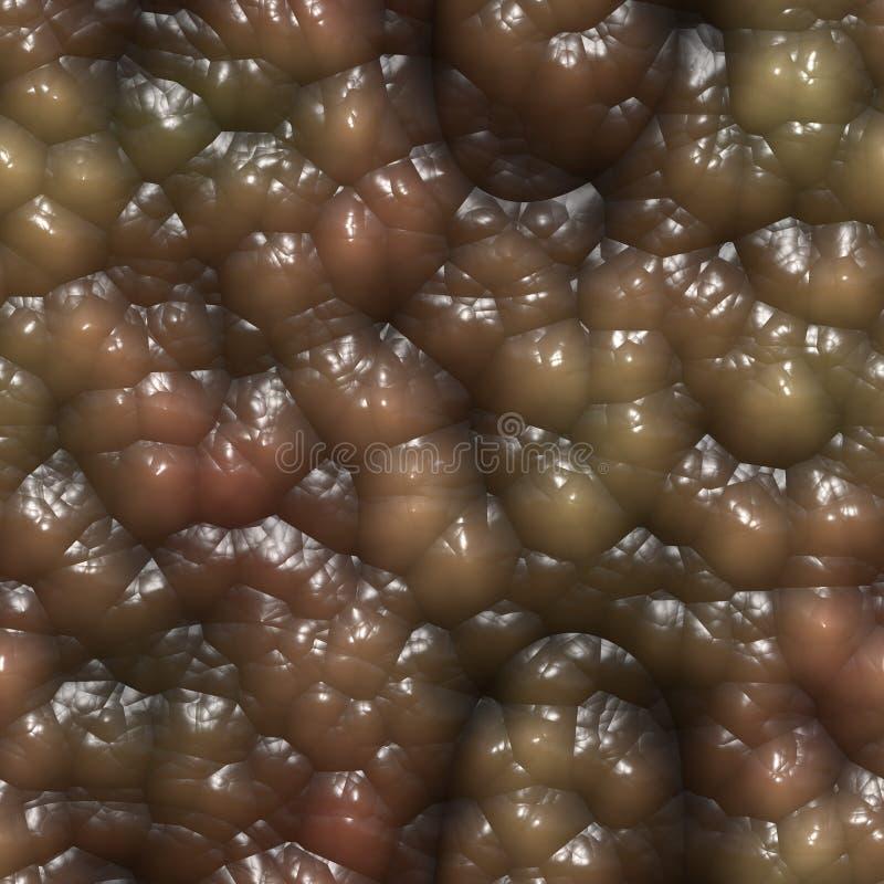 Het slijmerige organische weefsel 3d teruggeven vector illustratie