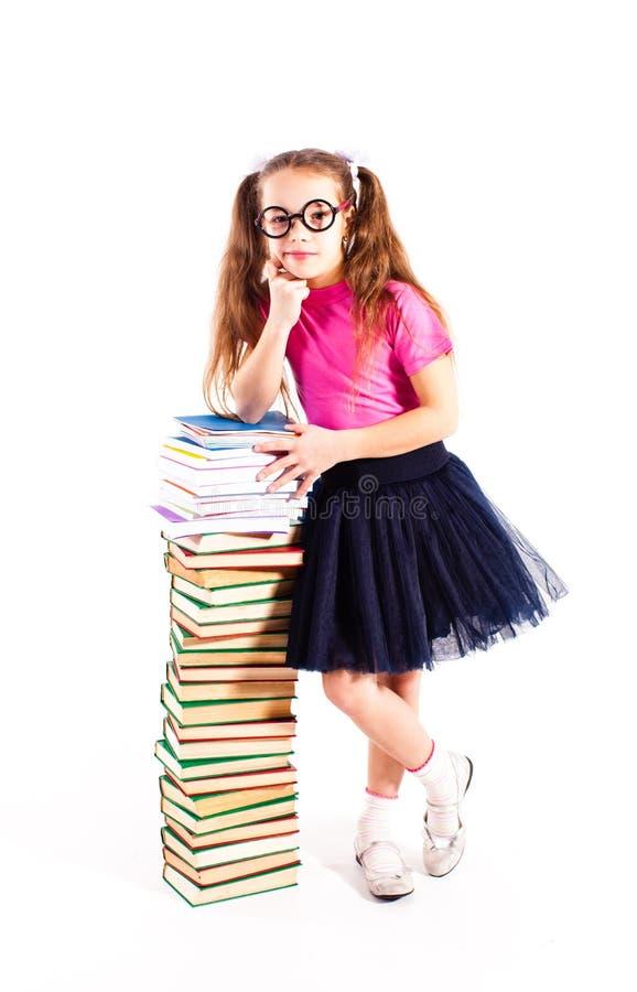 Het slimme meisje royalty-vrije stock foto's