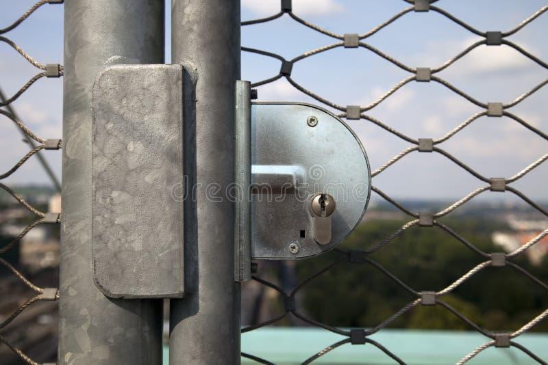 Het slot van de veiligheid stock foto's