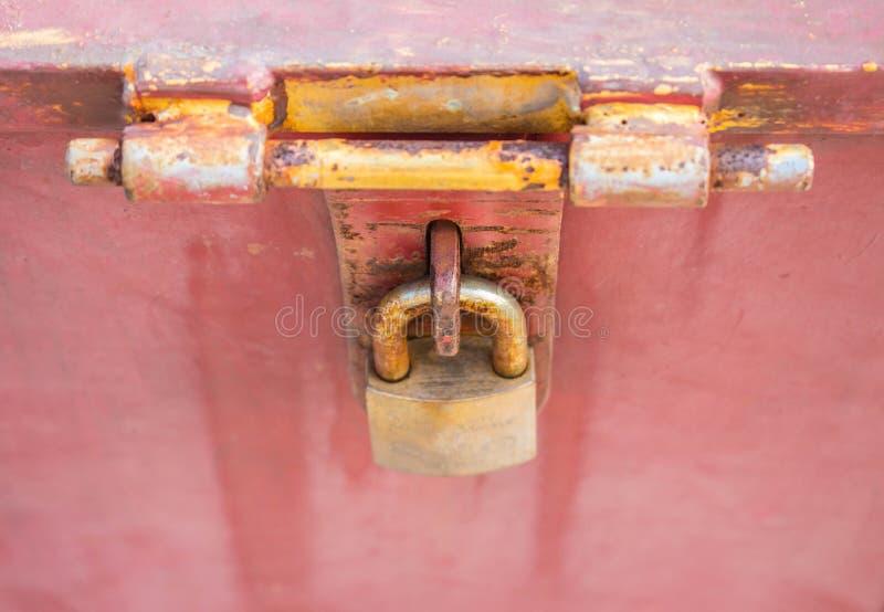 Het slot van het metaal stock afbeeldingen