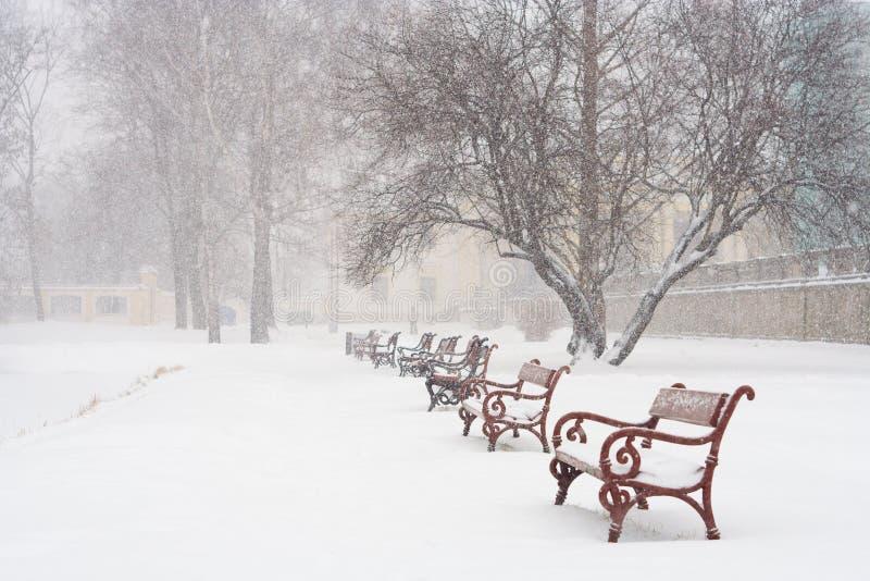 Het sneeuwen royalty-vrije stock foto's