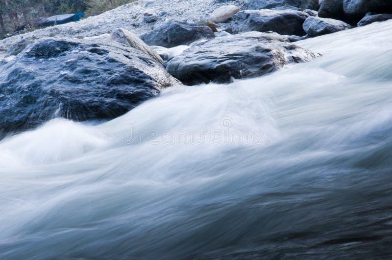Het snelle Stromen Teesta royalty-vrije stock foto's