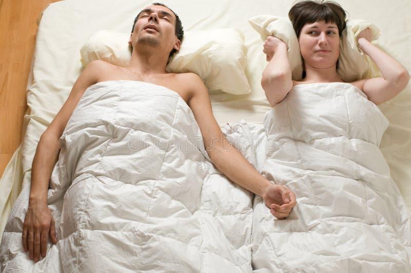 Het Snurken Royalty-vrije Stock Afbeelding