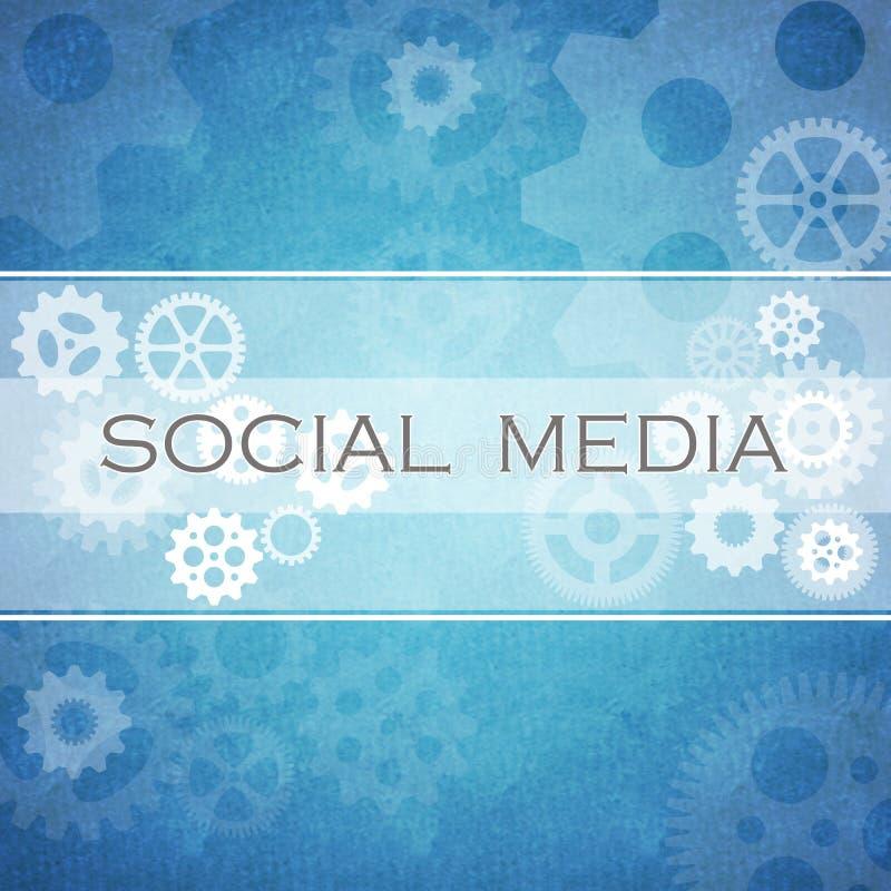 Het sociale diagram van Media royalty-vrije illustratie