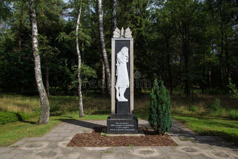 Het sovjetgedenkteken van de Oorlogsbegraafplaats royalty-vrije stock foto