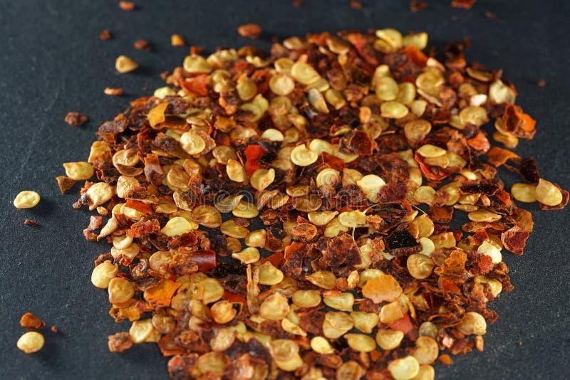 Het Spaanse peperkruid wordt ooit beschouwd het heetste als Spaanse peperkruid royalty-vrije stock afbeelding