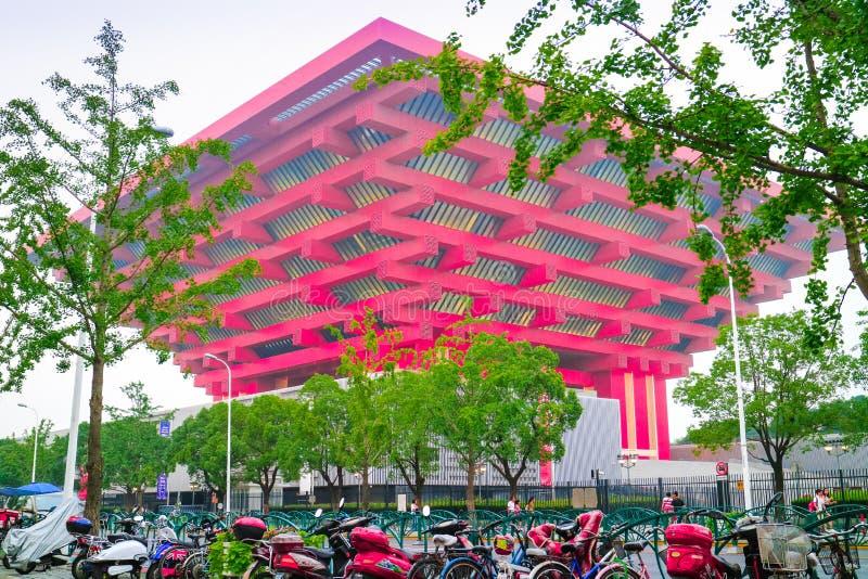 Het spectaculaire Paviljoen van China stock foto's