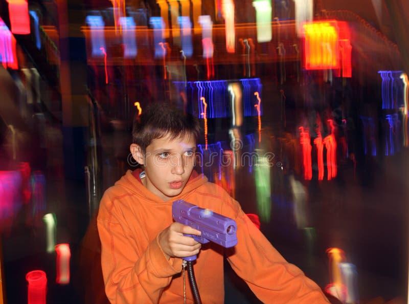 Het speel gokken van de tiener royalty-vrije stock foto
