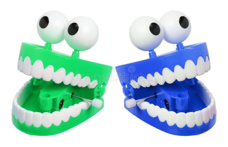 Het Speelgoed van Chatteringstanden stock fotografie
