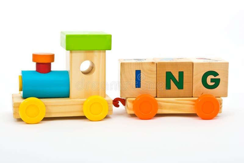 Het speelgoed van de opleiding childs stock fotografie