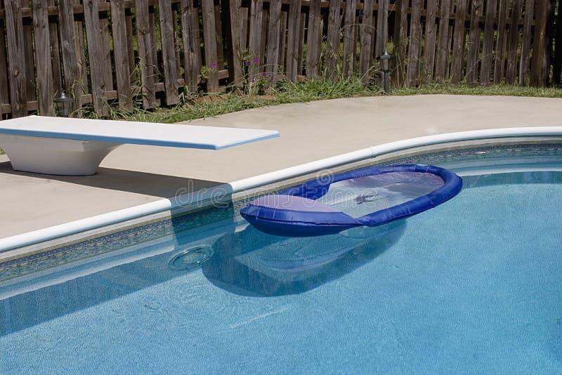 Het Speelgoed van de pool stock afbeelding