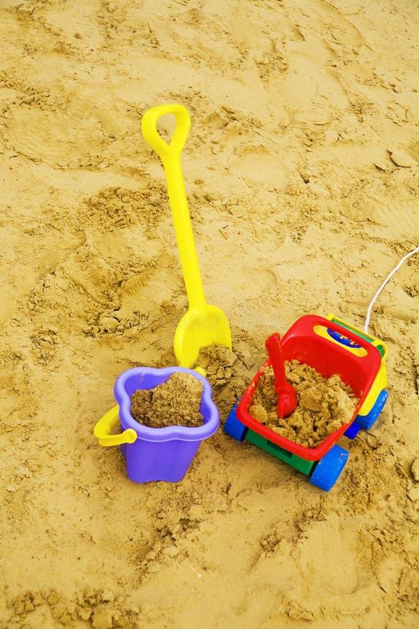 Het speelgoed van het kind stock foto