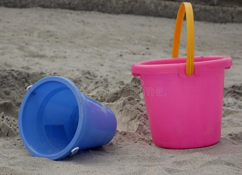 Het speelgoed van het strand royalty-vrije stock afbeelding