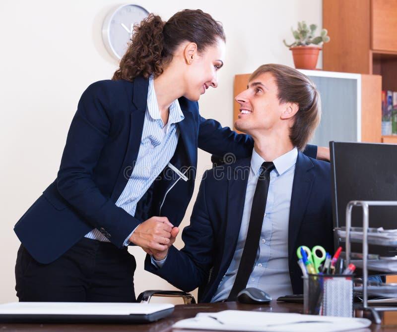 Flirten op werk