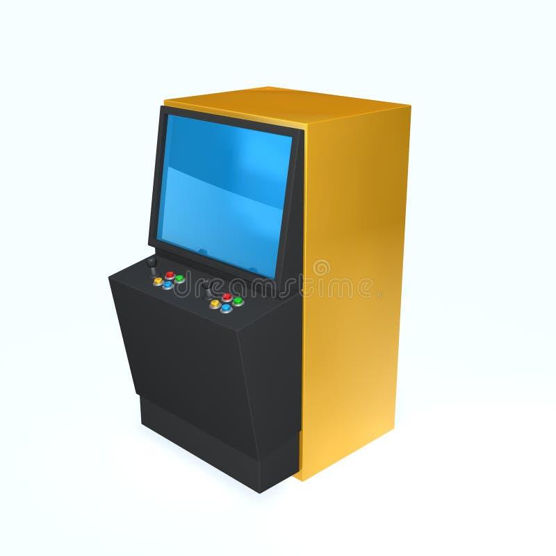 Het spel van de arcade stock illustratie