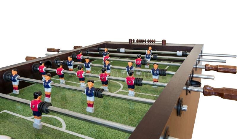 Het spel van de lijstvoetbal, Voetballijst stock fotografie