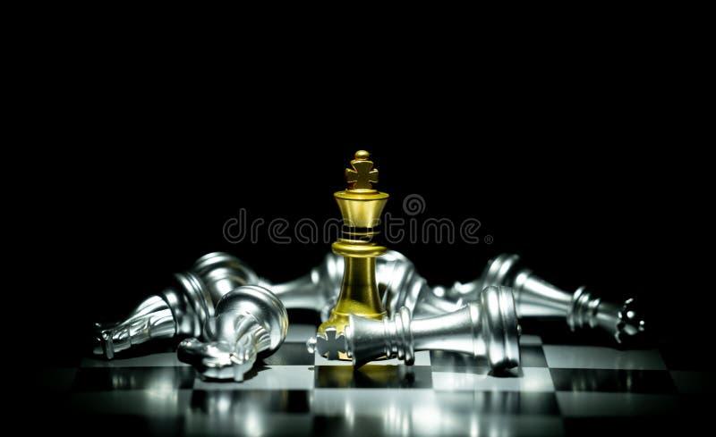 Het Spel van de schaakraad stock foto's