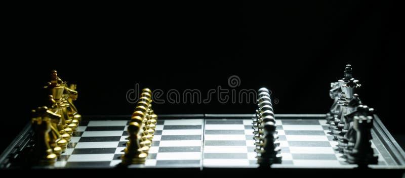 Het Spel van de schaakraad stock fotografie