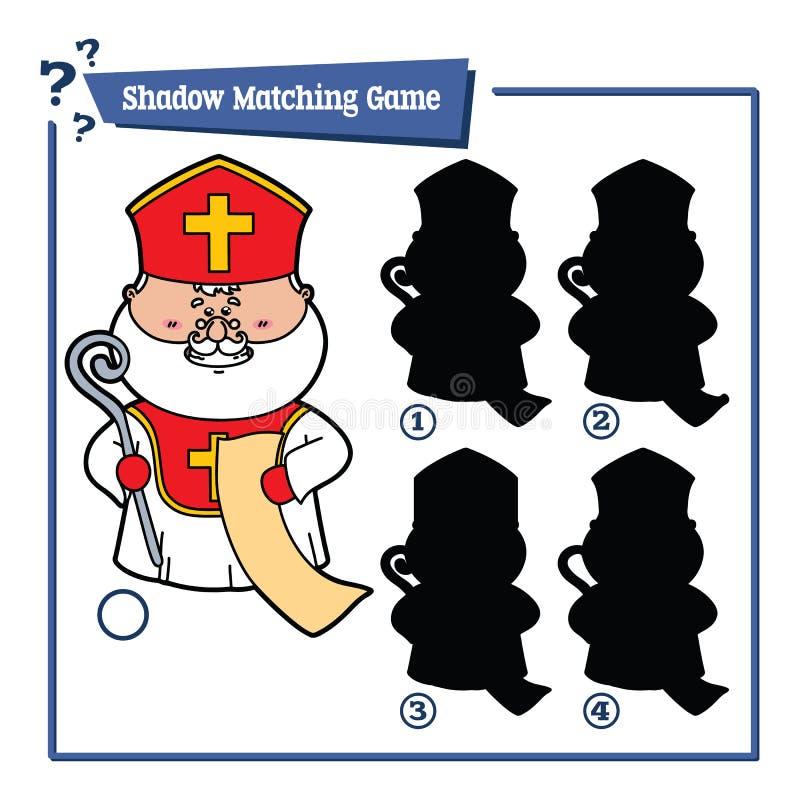 Het spel van heilige Nicholaus royalty-vrije illustratie