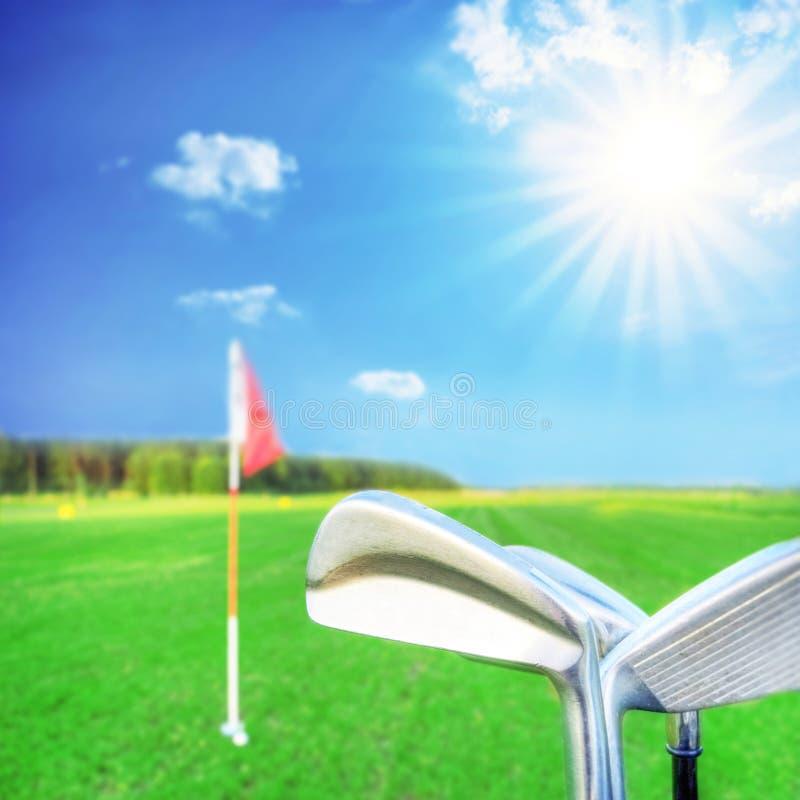 Het spel van het golf. royalty-vrije stock fotografie