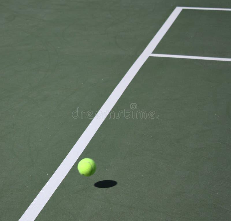 Het spelconcept van het tennis stock fotografie