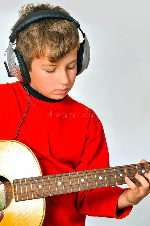 Het spelen guitar2 royalty-vrije stock fotografie