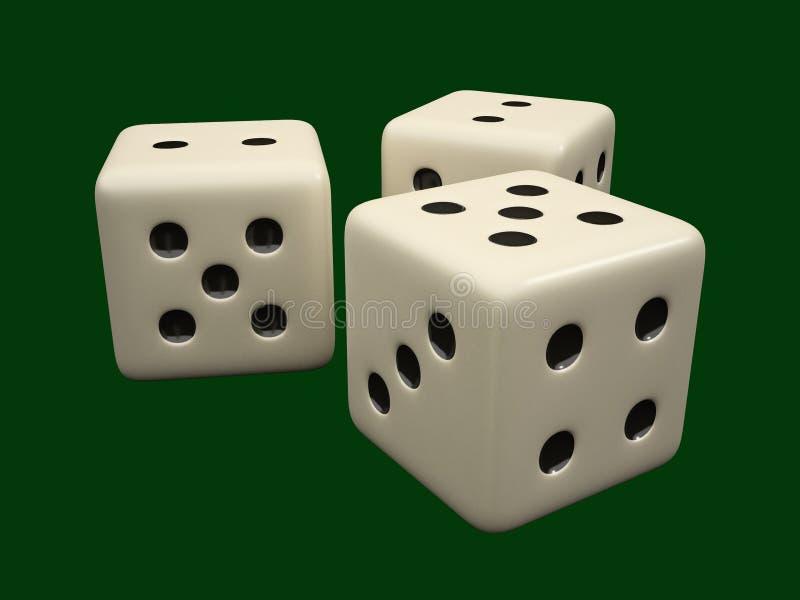 Het spelen kubussen vector illustratie