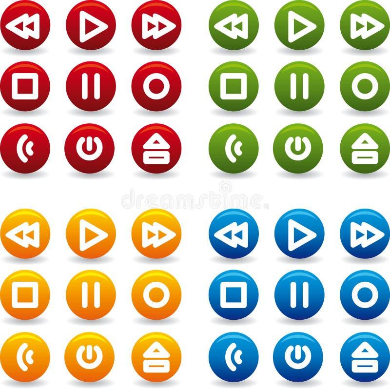 Het spelpictogram van de knoop stock fotografie