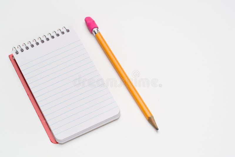 Het spiraalvormige notitieboekje van de zakgrootte royalty-vrije stock afbeeldingen