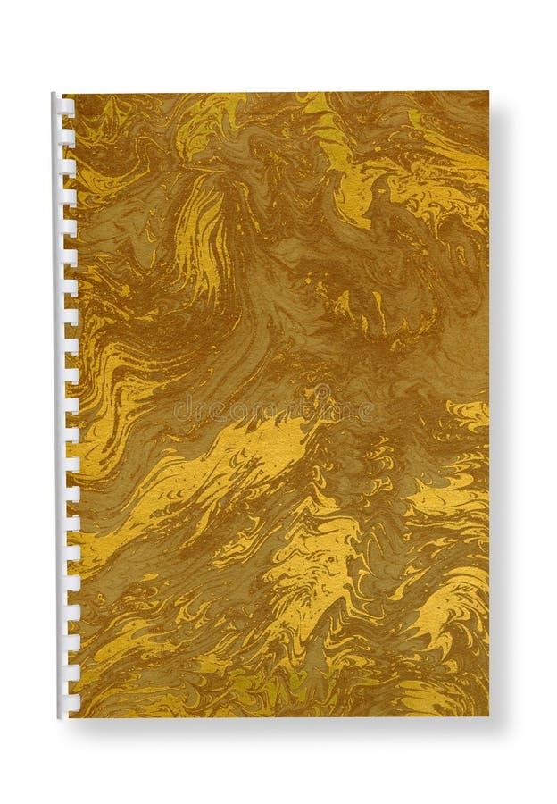 Het spiraalvormige notitieboekje van het document. royalty-vrije stock fotografie