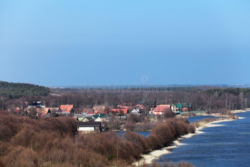 Het Spit van Curonian royalty-vrije stock afbeelding