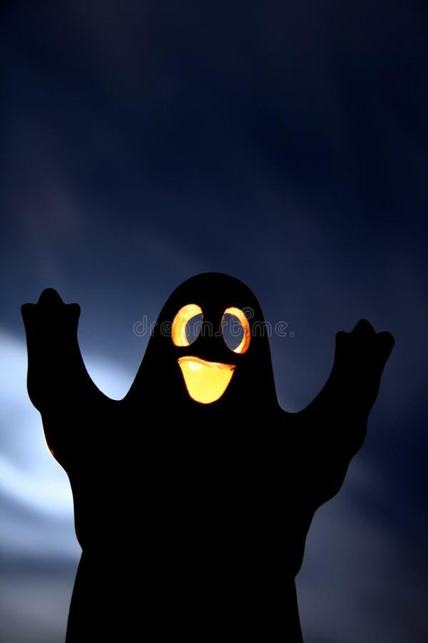 Het spook van Halloween stock foto's