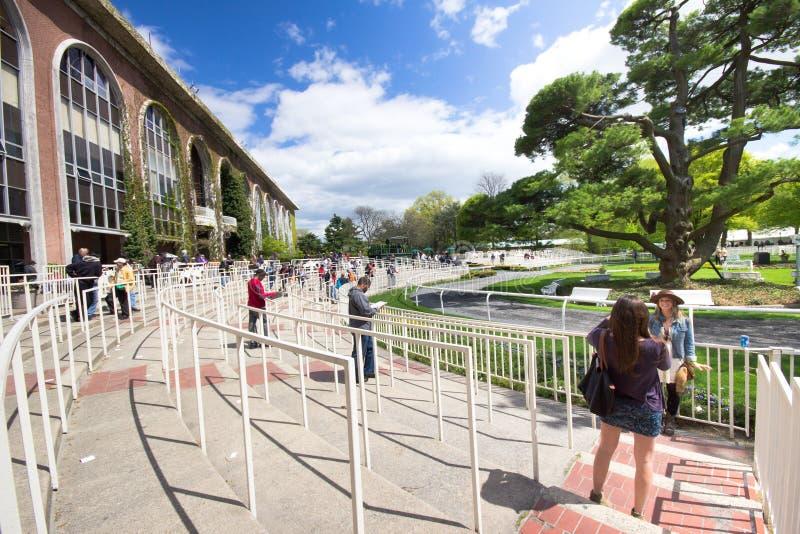 Het Spoor 2011 van het Ras van het Park van Belmont royalty-vrije stock foto