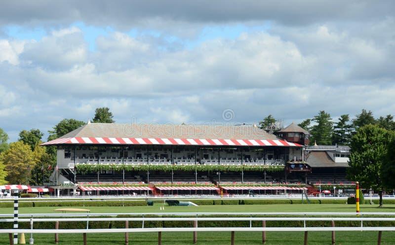 Het spoor van de paardenkoers royalty-vrije stock fotografie