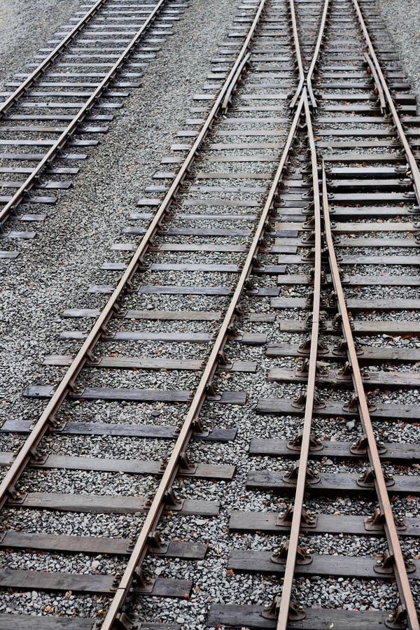 Het spoor van de trein royalty-vrije stock foto's