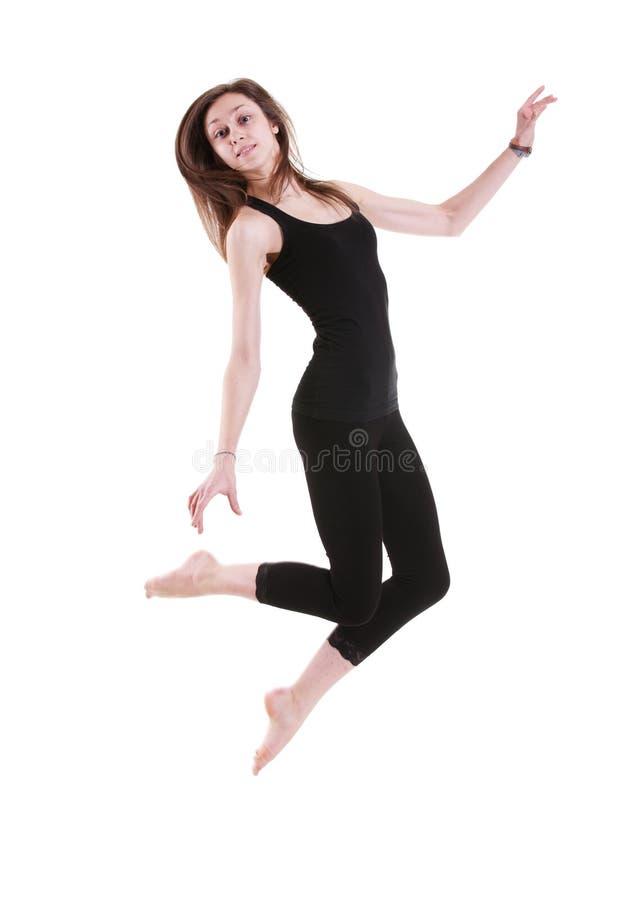 Het sportenmeisje stock afbeeldingen