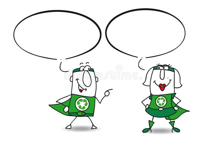 Download Het Spreken Over Aardebescherming Vector Illustratie - Illustratie bestaande uit vergadering, milieu: 54080449